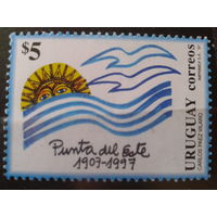 Уругвай 1997 90 лет городу Пунта Mi-3,0 евро