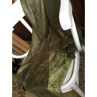 Шаль палантин оливковый цвет 180 х 70