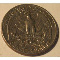 США 25 центов 1982