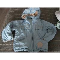 Куртка для мальчика деми р.110-122