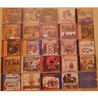 Набор игровых лицензионных дисков.