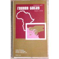 Большая карта Гвинея-Бисау