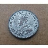 Британская Восточная Африка, 1 шиллинг 1924 г., биллон, Георг V (1910-1936)