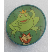 Значок. Царевна лягушка #0322