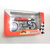 "Модель мотоцикла""GILERA 500cc"". 1:22."