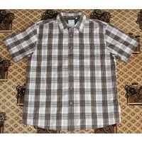 Рубашка Fat Face 100 % хлопок оригинал. 50-52 (L),178см, ворот  44/45.
