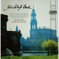 J. S. Bach/Fuge d-moll BWV 565, Es-dur BWV552../1987,Eterna, LP, NM