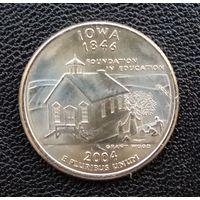 США Айова 25 центов 20043 г. Р