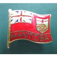 Канада. Манитоба. Флаг.