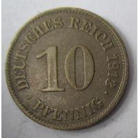 Германия. 10 пфеннигов 1913 E. 1-71