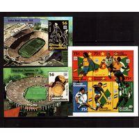 Гренада-Грен.-1994 (Мих.1910-1915,Бл.309-310) **  , Спорт, ЧМ-1994 по футболу