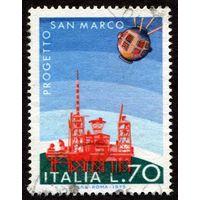 Италия 1975. Спутник Сан Марко