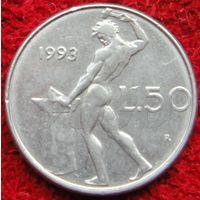 6926: 50 лир 1993 Италия