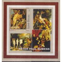 ГВИНЕЯ -БИСАУ MNH 2001 Картины Пауля Рубенса