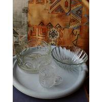 Посуда из толстого стекла ссср.