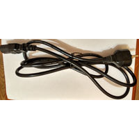 Шнур питания 1.8 м для ПК компьютера дешево кабель 220 в