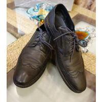 Туфли мужские натуральная кожа Италия