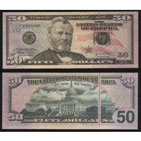 Сувенир - США 50 долларов 2004 год n212
