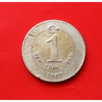 23-24 Турция, 1 лира 2007 г.