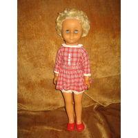 Кукла ГДР SONNI 40см из первых каучуковых конец 50-х-начало 60-х гг ХХв коллекционная