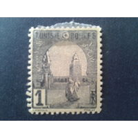 Тунис 1906 колония Франции стандарт