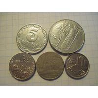 Пять монет/534 с рубля!