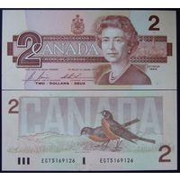 Канада. 2 доллара 1986 [UNC]
