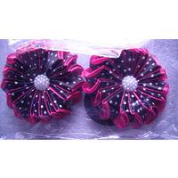 Резинка для волос. 2 шт. комплект. 2 . Подарок к празднику. распродажа