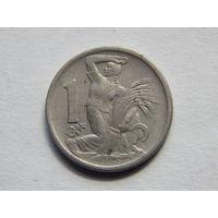 Чехословакия 1 крона 1946г
