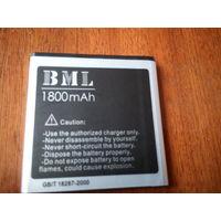 Аккумулятор для мобильника 1800 мач новый 50х50мм