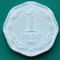 1 песо 1995 ЧИЛИ