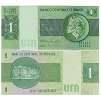 Бразилия. 1 крузейро 1972-80 г. [P.191.a] UNC