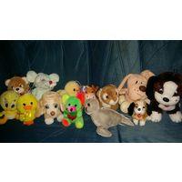 Мягкие игрушки лотом(13 штук)