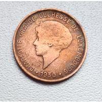 Люксембург 5 сантимов, 1930 6-3-9