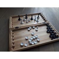 Нарды. Ручная работа. Плюс Шахматы и шашки.