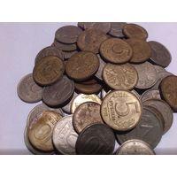Лот монет ранней России 60 шт.