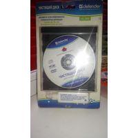 Чистящий диск для линз СД  и ДВД  и комп.дисководов.