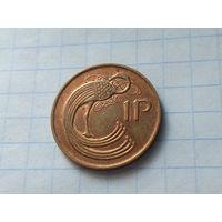 Ирландия 1 пенни, 1980