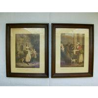 2  Красивейшие гравюры.  23 х 28 см. N 1