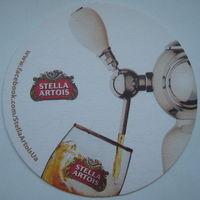 Подставка под пиво (бирдекель) Stella Artois (a2)