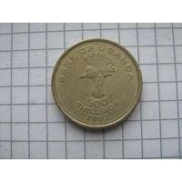 Уганда 500 шиллингов 2003г.