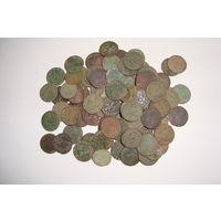 100 монет солид медный                                      (5655)