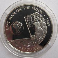 Кука о-ва, 5 долларов, 1991, серебро, пруф