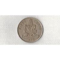 Бермудские острова /Бермуды/ 50 центов 1970 /редкая/корабль///MY/