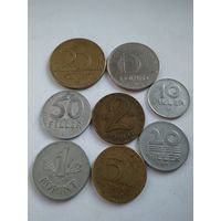 Монеты Венгрии.