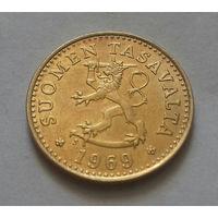 10 пенни, Финляндия 1969 г.