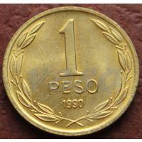 4156:  1 песо 1990 Чили
