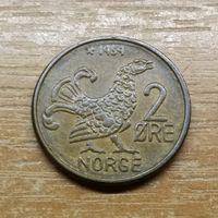 Норвегия 2 эре 1959_РАСПРОДАЖА КОЛЛЕКЦИИ