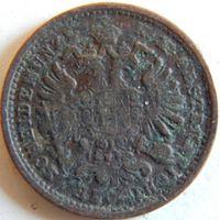 2.5. Австрия 1 крейцер 1891 год