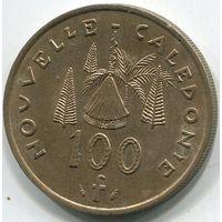 НОВАЯ КАЛЕДОНИЯ - 100 ФРАНКОВ 1976